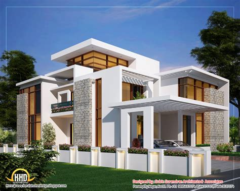contemporary floor plans for new homes 6 awesome homes plans kerala home design and floor plans