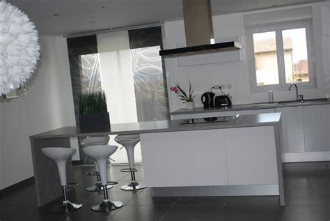 deco cuisine blanc et comment aménager sa déco cuisine blanc et grise