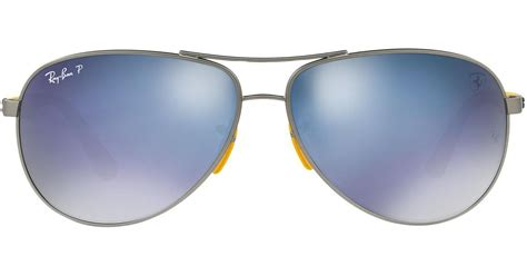 4.8 out of 5 stars based on 43 product ratings(43). Ray-Ban Rb3460m Rb3460m Scuderia Ferrari Collection in Yellow for Men - Lyst