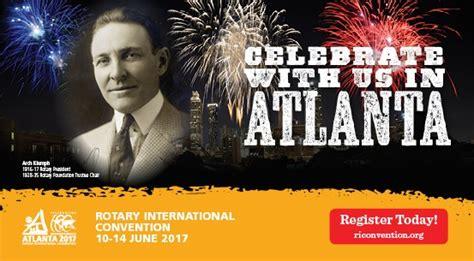 rotary international convention atlanta rotary district