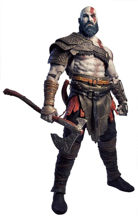 God Of War 4 Kratos 14 Scale Figure Available From Neca