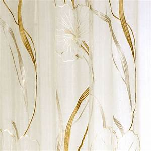 Schöner Leben Outlet : schlaufenschal fertigvorhang fertigschal vorhang 140x245cm hibiscus baunach ~ Orissabook.com Haus und Dekorationen
