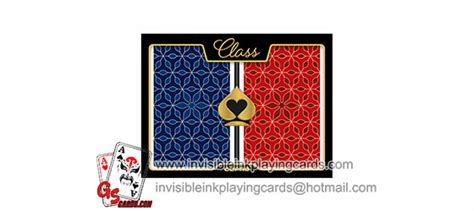 Marked Cards With Invisible Ink For Playing Cards Contact