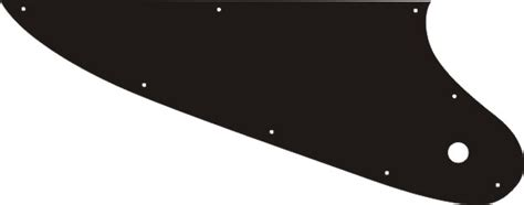 thunderbird pickguard template explorer 174 76 reissue style pick guard 0 00 terrapin