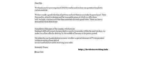 quotes  writing business letters  quotes