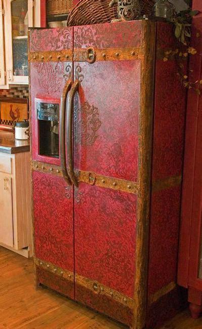 fun fridge door decoration creative drawings unique designs bright painting ideas