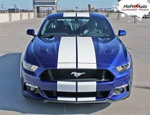 "2016 Ford Mustang Lemans Hood 10"" Racing Rally Stripes 3M ..."