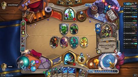 Hearthstone Deathrattle Deck Gvg by My New Hearthstone Shaman Jade Deathrattle Deck Vs