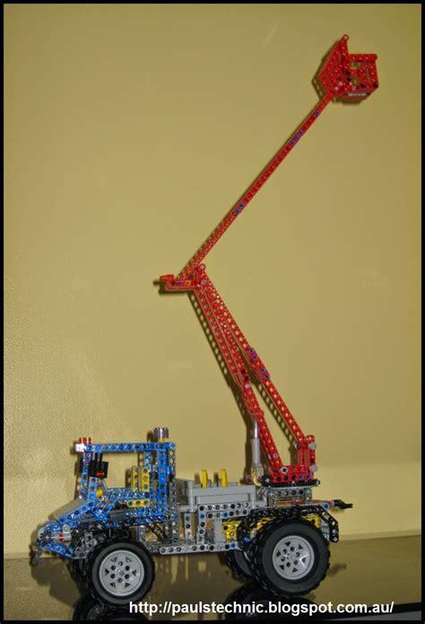 meet  lego  road unimog aerial bucket truck