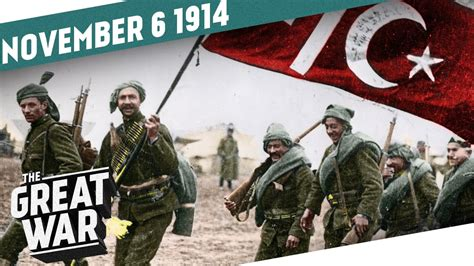 Ottoman Empire World War 1 by The World At War The Ottoman Empire Enters The Stage I