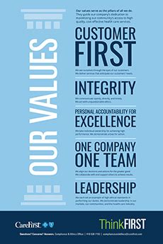 mission values carefirst bluecross blueshield