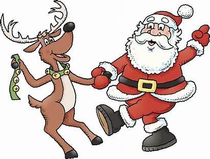 Dancing Santa Reindeer Questions Thinkstock Email