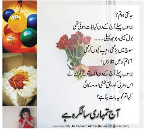 amateurs birthday wishes urdu  overlook   simple  boory