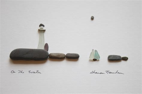 Sharon Nowlan Pebbles Capture Life In A Snap Shot Stone