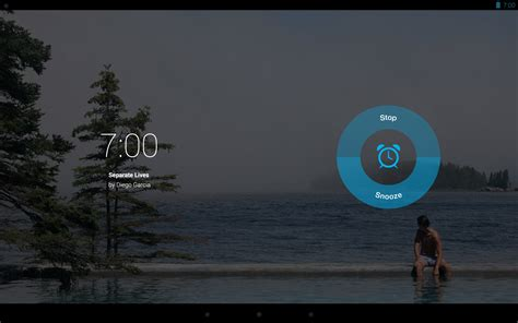 pandora android pandora for android tablets gets alarm clock sleep timer