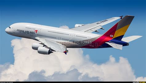 HL7626 - Asiana Airlines Airbus A380 at New York - John F