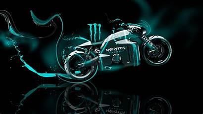 Monster Neon Energy Bike Wallpapers Fantasy Lotus