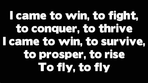 Fly Ft. Rihanna (lyrics)