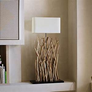 Dekorationen Aus Holz : holz lampen selber machen deko mit zweigen im naturlook ~ Yasmunasinghe.com Haus und Dekorationen