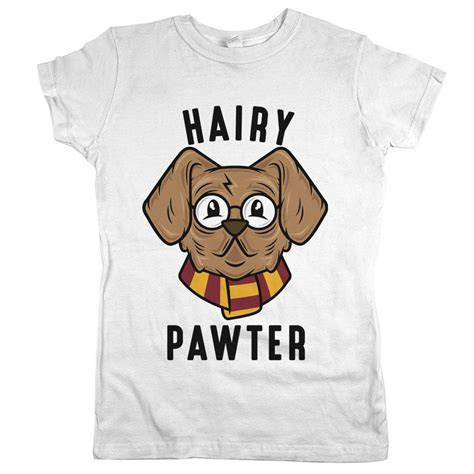 hairy pawter dog shirt potter parody  shirts  dog