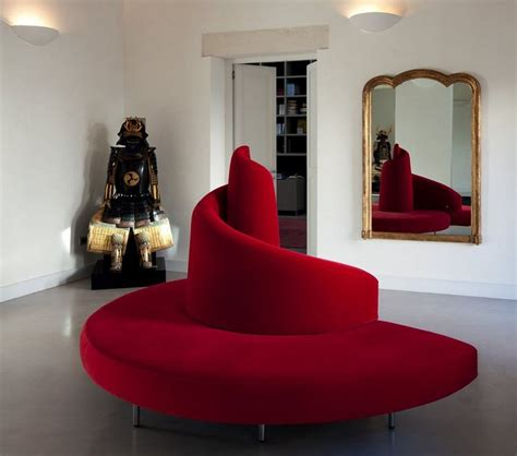 canapé cuir beige canapé demi lune et canapé rond 55 designs spectaculaires
