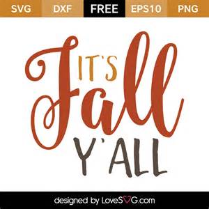 Happy Fall Y'all SVG Files Free