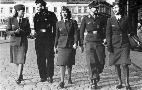 Female German Soldiers.