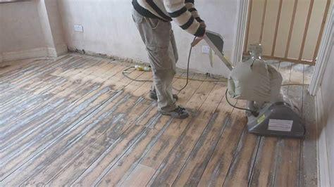 sand wooden floor boards part  youtube