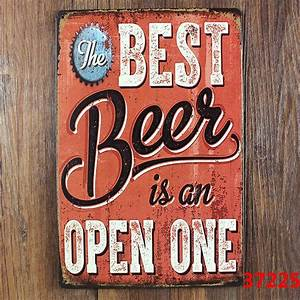 popular funny bar signs buy cheap funny bar signs lots With best brand of paint for kitchen cabinets with metal wall art signs