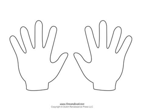 template of hand costumepartyrun