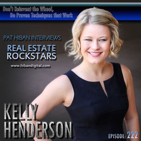 kelly henderson dont reinvent  wheel  proven