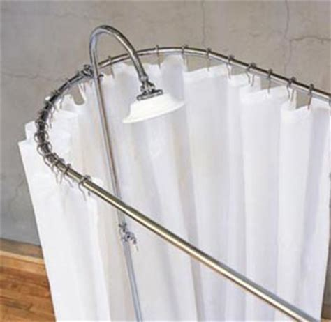 clawfoot tub shower curtain rod decor ideasdecor ideas