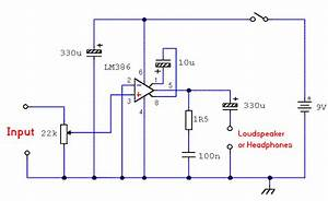 Simple Amplifier Diagram