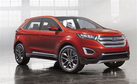 ford edge concept   video  la auto show