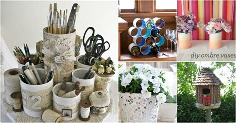 crafty repurposing ideas  empty coffee containers