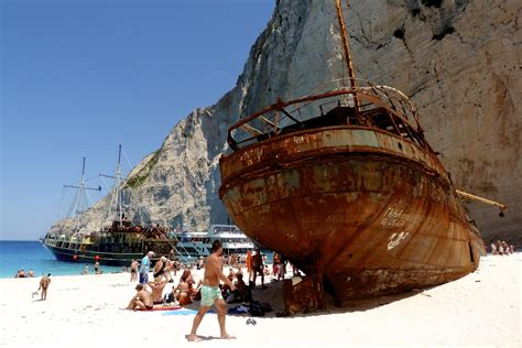 Ship Zante by Navagio The Most Beautiful Of Greece Eutourism