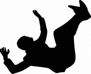 Silhouette Fall Falling  U00b7 Free Vector Graphic On Pixabay