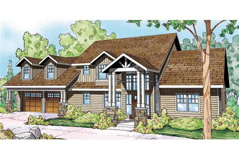 lodge style house plans grand river