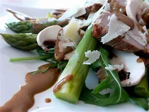 Schweinefilet Mit Spargel : ruccola salat mit schweinefilet und gr nem spargel lebensart ~ Lizthompson.info Haus und Dekorationen