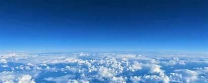 Clouds Above Sky Background Wide Wallpapersmug