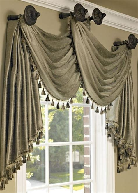 arched window treatment hardware 35 creative ways to hang curtains like a pro bored