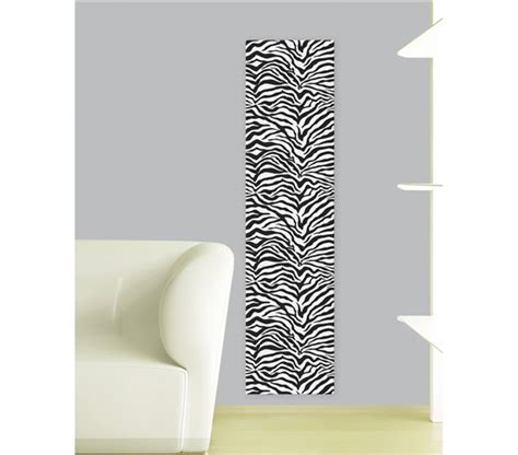 zebra foam tiles peel n stick includes 4 tiles