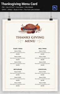 25 thanksgiving menu templates free sle exle format free premium templates