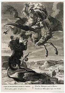 Chimaera - Mythology - Chimaera, creature with the body of ...