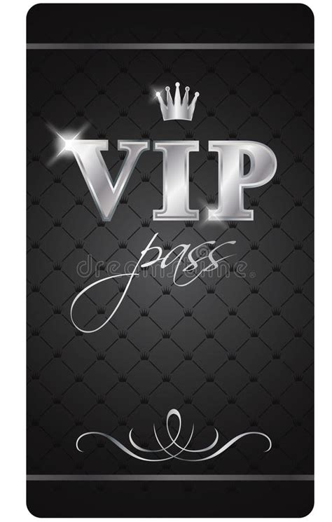vip pass vip pass stock vector illustration of offer person 18143319