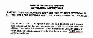 1979 Kz1000-c2 No Spark Dyna Iii Ignition System - Kzrider Forum