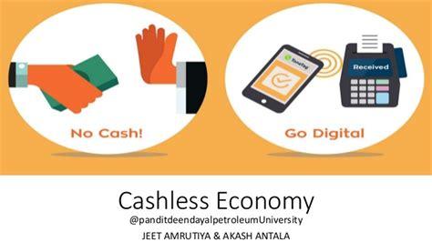 cashless society cashless economy  transactions