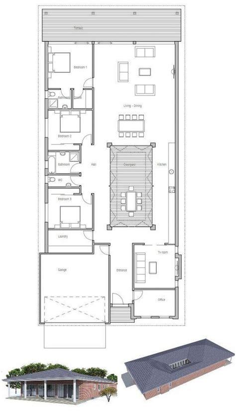 Modern House Plans Narrow Lot Unique Minecraft Modern