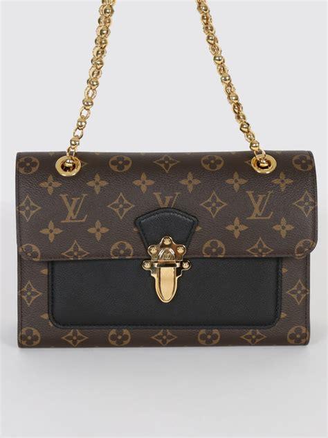 louis vuitton victoire monogram canvas calf leather luxury bags
