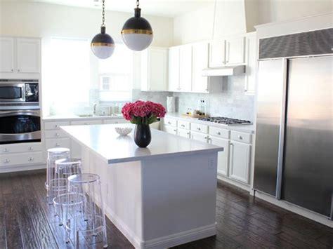 dreamy white kitchens